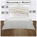 Morris Home Furnishings Upholstered Headboards and Beds King/Cal King Transitional Upholstery Headboard & Frame