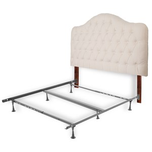 Fashion Bed Group Upholstered Headboards and Beds Full/Queen Upholstery Headboard & Frame