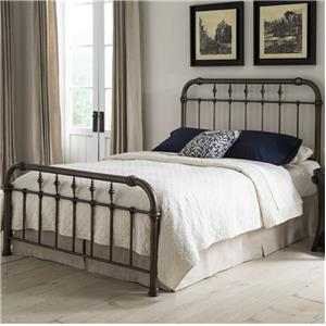 Morris Home Furnishings Vienna Queen Bed with Frame
