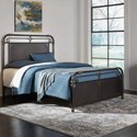 Fashion Bed Group Westchester California King Westchester Metal Headboard & Footboard