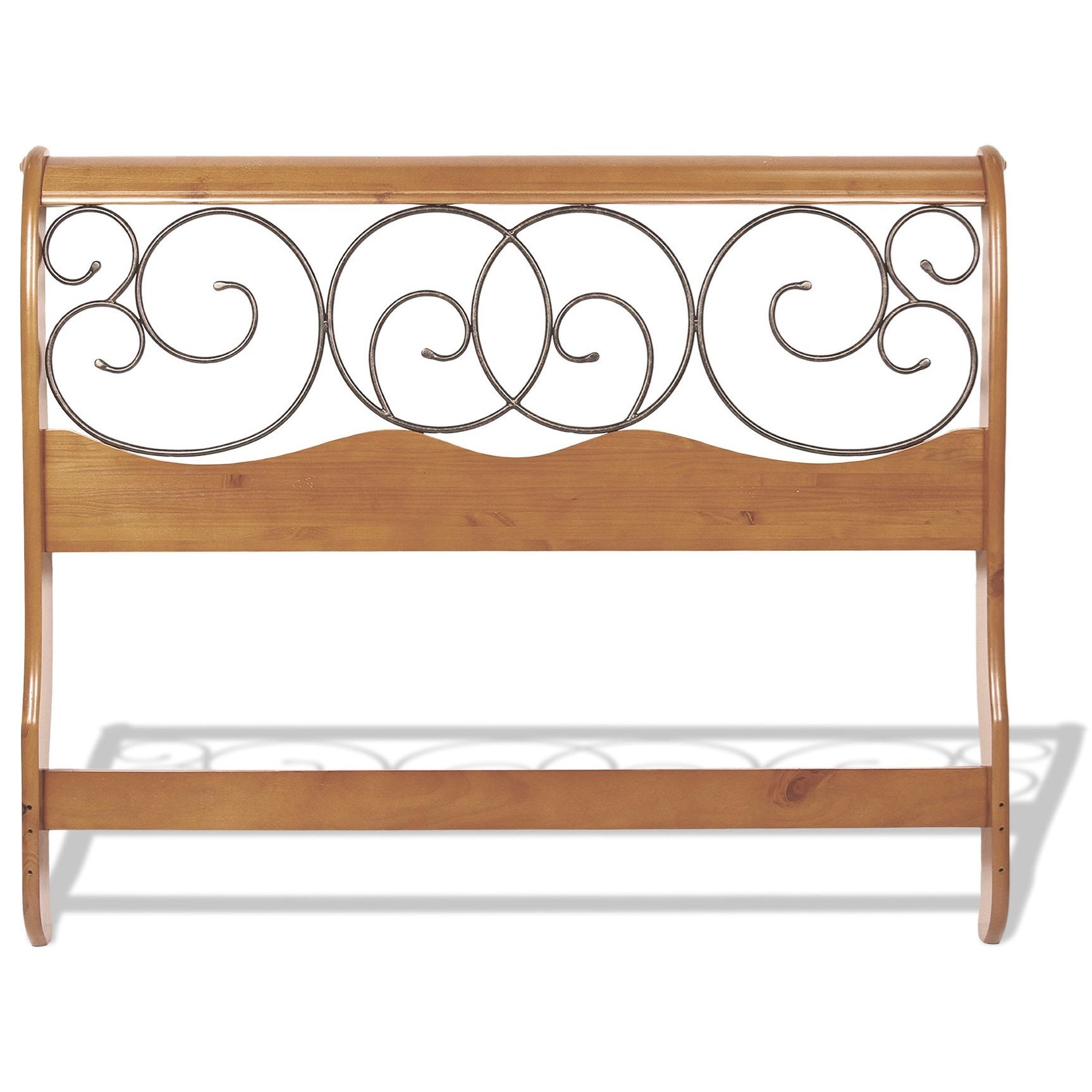 Canopy Style Bed Available For Order In These Wood Colours: Fashion Bed Group Wood And Metal Beds B90D05 Queen Dunhill