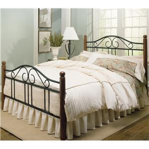 Metal And Wood Bed Frames wood and metal beds (wmb)fashion bed group - ahfa - fashion