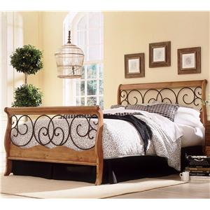 Fashion Bed Group Wood And Metal Beds Full Weston Bed W Frame