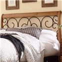 Morris Home Furnishings Wood and Metal Beds King/California King Dunhill I Headboard - Item Number: B92D06