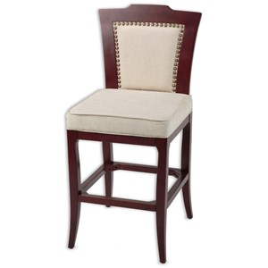 Fashion Bed Group Wood Barstools Springfield Wood Barstool