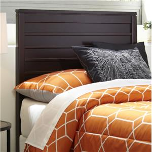 Morris Home Furnishings Wood Beds Twin Uptown Headboard