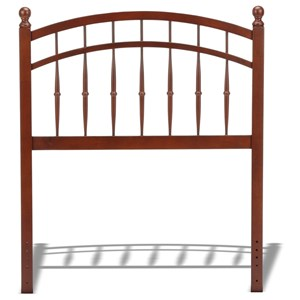 Morris Home Furnishings Wood Beds Twin Wood Headboard