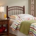 Fashion Bed Group Wood Beds Twin Bailey Wood Headboard