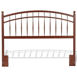 Fashion Bed Group Wood Beds Full/Queen Wood Headboard