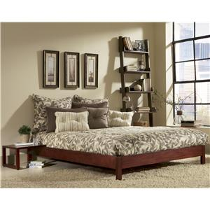 Fashion Bed Group Wood Beds Twin Murray Bed with Sidetable