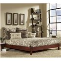 Fashion Bed Group Wood Beds Queen Murray Platform Bed  - Item Number: B51085