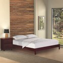 Fashion Bed Group Wood Beds Full Murray Platform Bed