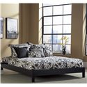 Fashion Bed Group Wood Beds Queen Murray Platform Bed  - Item Number: B51095