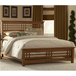 Morris Home Furnishings Wood Beds King Avery Wood Bed