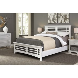 Fashion Bed Group Wood Beds Full Avery Headboard and Footboard