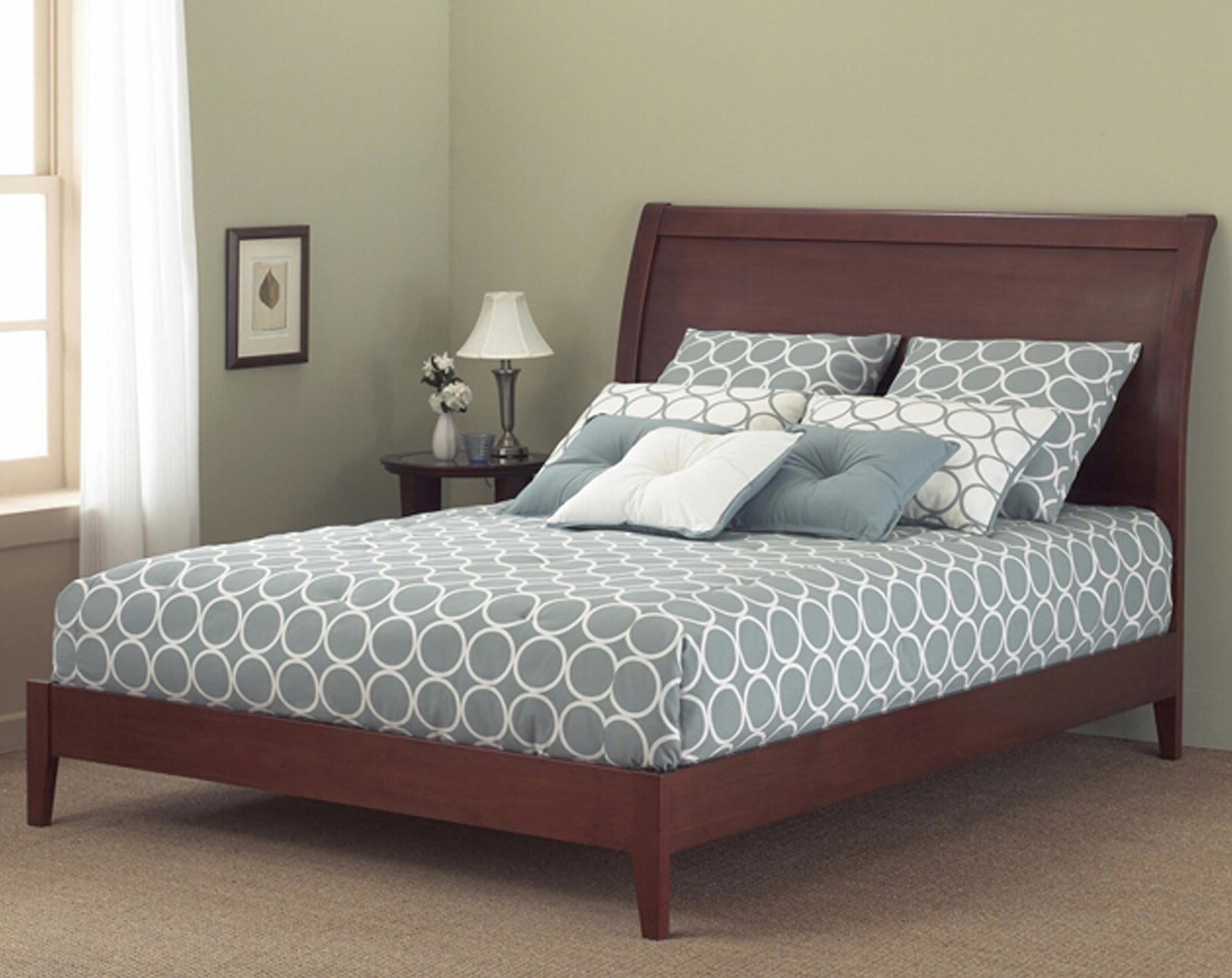 Wood Beds Queen Java I Platform Bed By Fashion Group