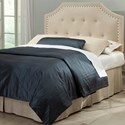 Morris Home Furnishings Wood Beds Full/Queen Transitional Wood Headboard