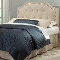 Fashion Bed Group Wood Beds Twin Transitional Wood Headboard