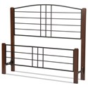 Fashion Bed Group Wood Beds Queen Dayton Headboard and Footboard - Item Number: B90855