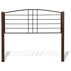 Fashion Bed Group Wood Beds Queen Dayton Headboard