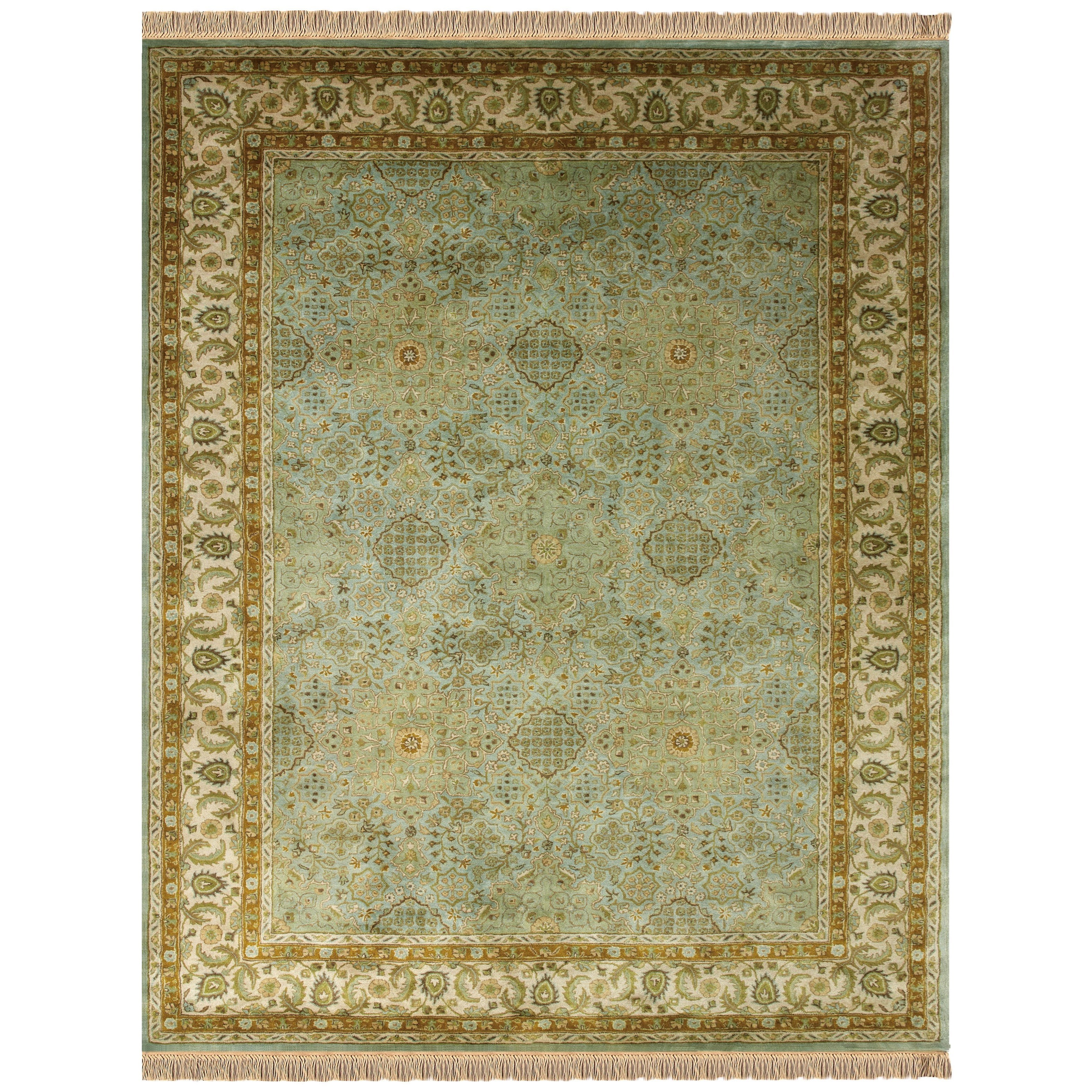 Amore Ocean/Beige 2' x 3' Area Rug by Feizy Rugs at Sprintz Furniture