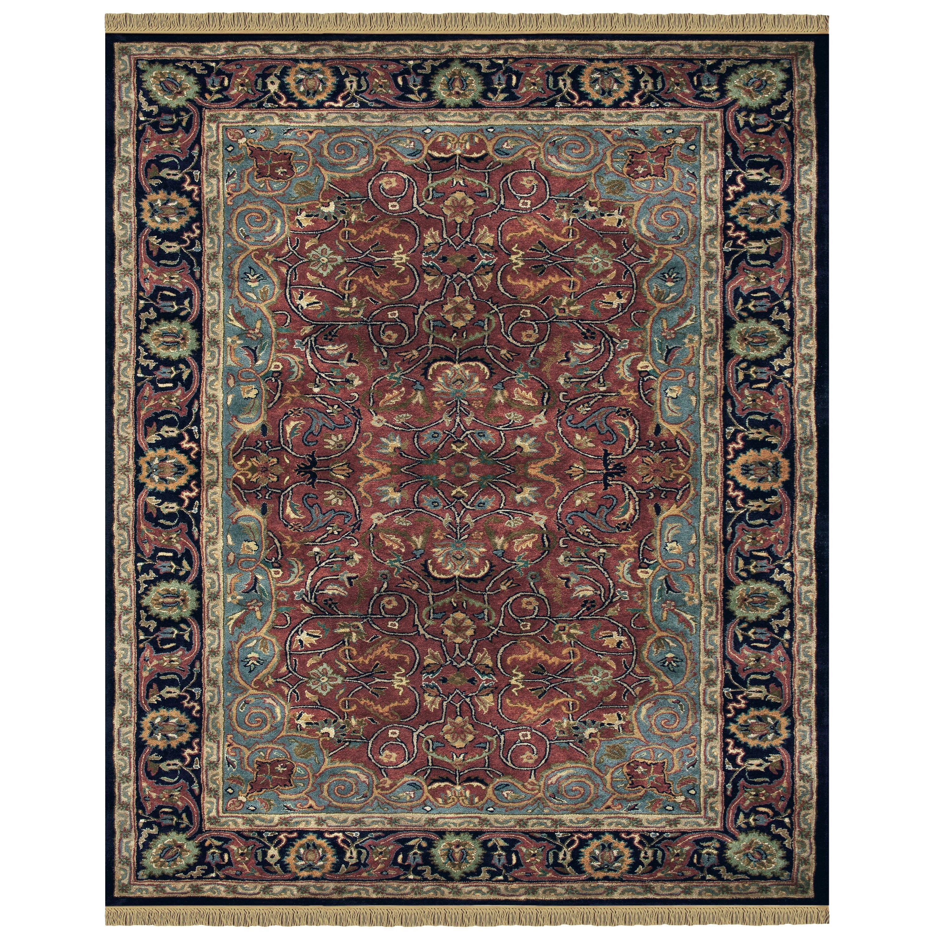Amore Plum 5' x 8' Area Rug by Feizy Rugs at Sprintz Furniture