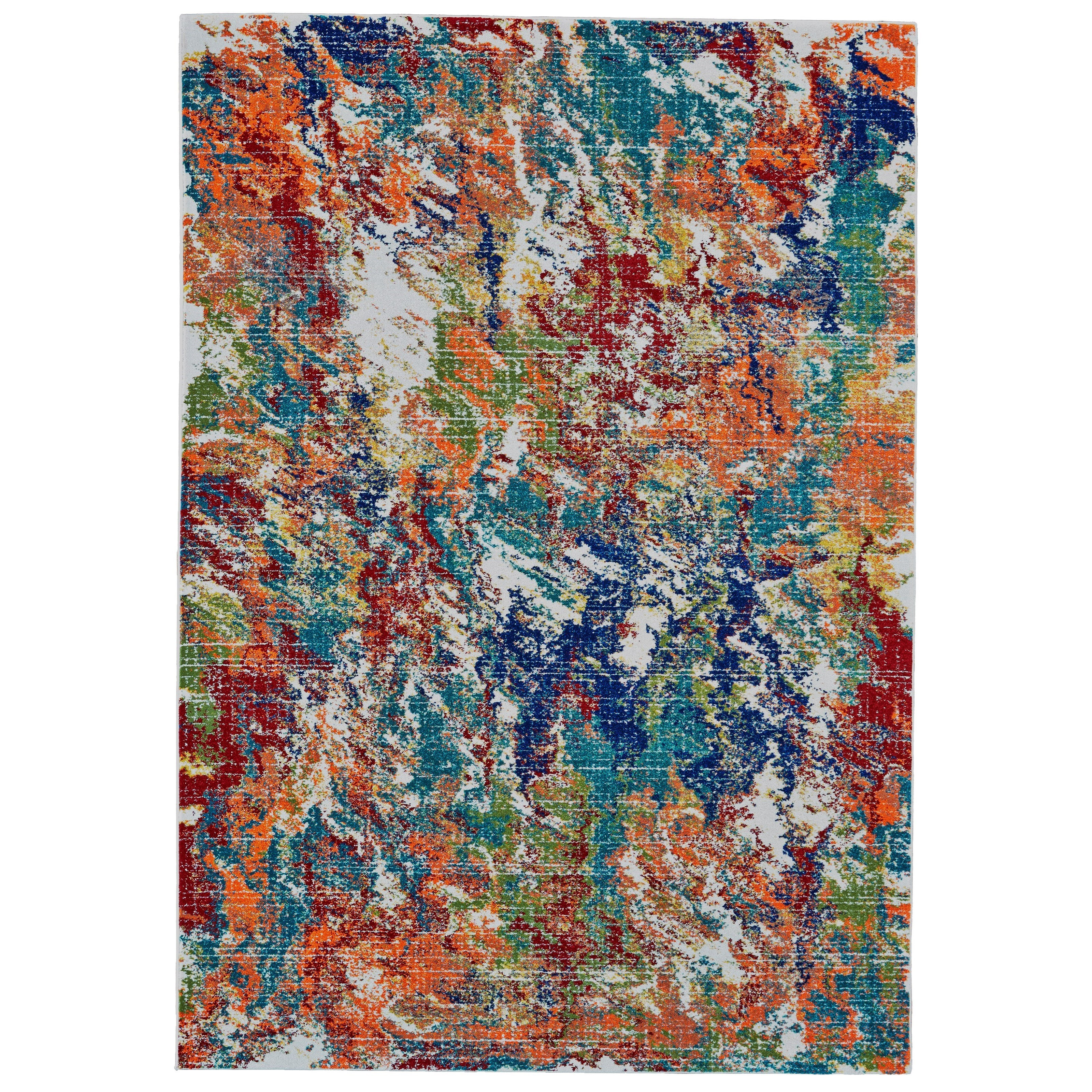 Archean Vacation 8' X 11' Area Rug by Feizy Rugs at Sprintz Furniture