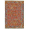 """Feizy Rugs Archean Cantaloupe 2'-10"""" X 7'-10"""" Runner Rug - Item Number: 7103309FCNT000I71"""