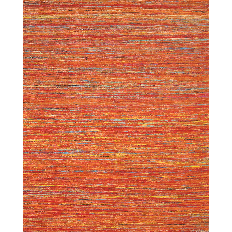 Orange/Multi 5' x 8' Area Rug