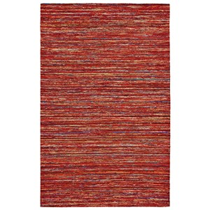Red/Multi 2' x 3' Area Rug