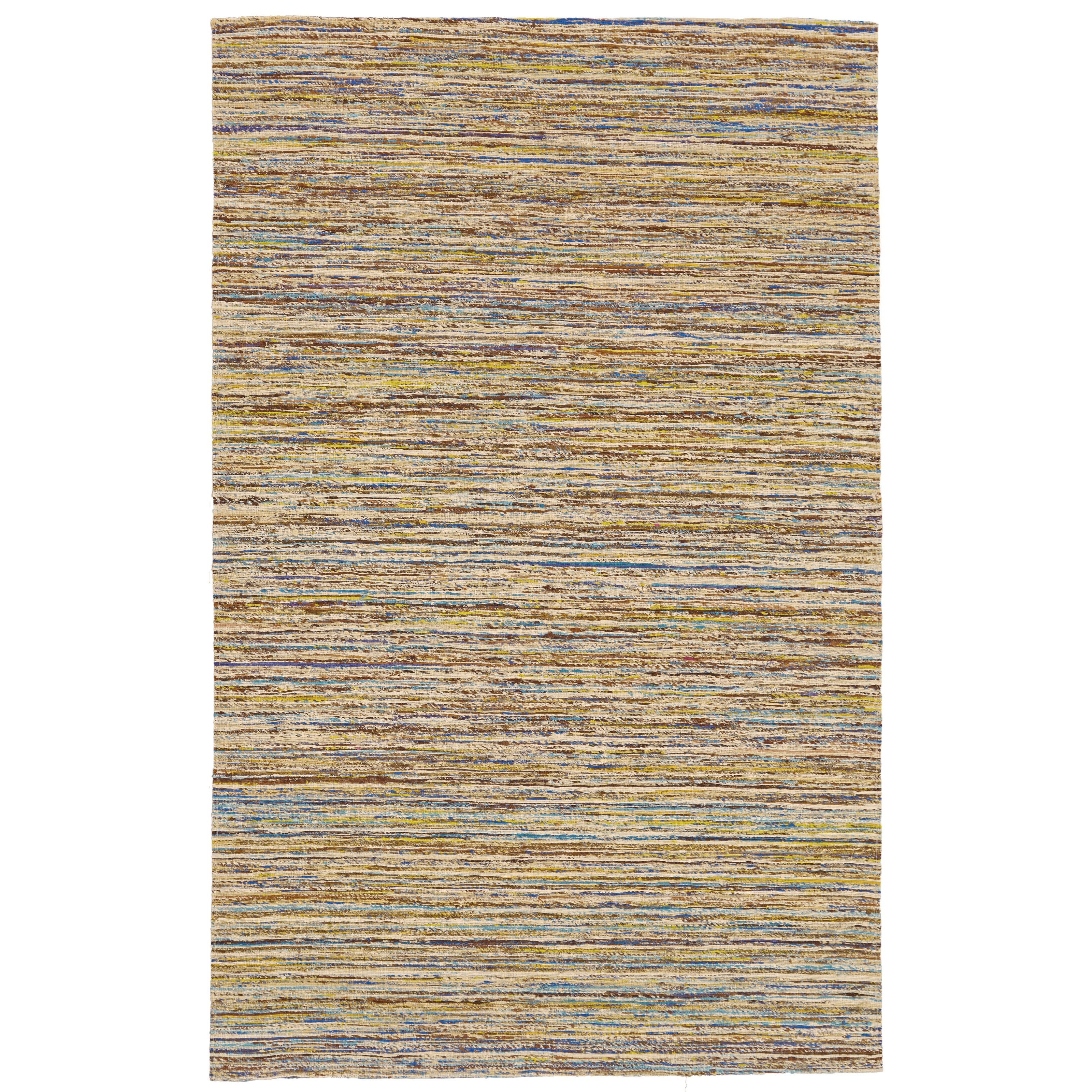 Arushi Teal/Beige 5' x 8' Area Rug by Feizy Rugs at Sprintz Furniture