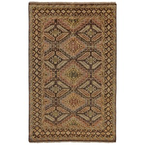"Brown/Brown 5'-6"" x 8'-6"" Area Rug"