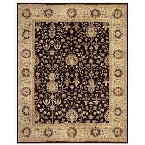 "Black/Beige 7'-9"" x 9'-9"" Area Rug"