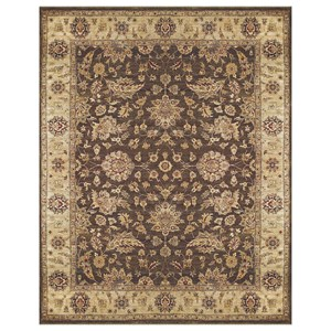 "Brown/Beige 8'-6"" x 11'-6"" Area Rug"