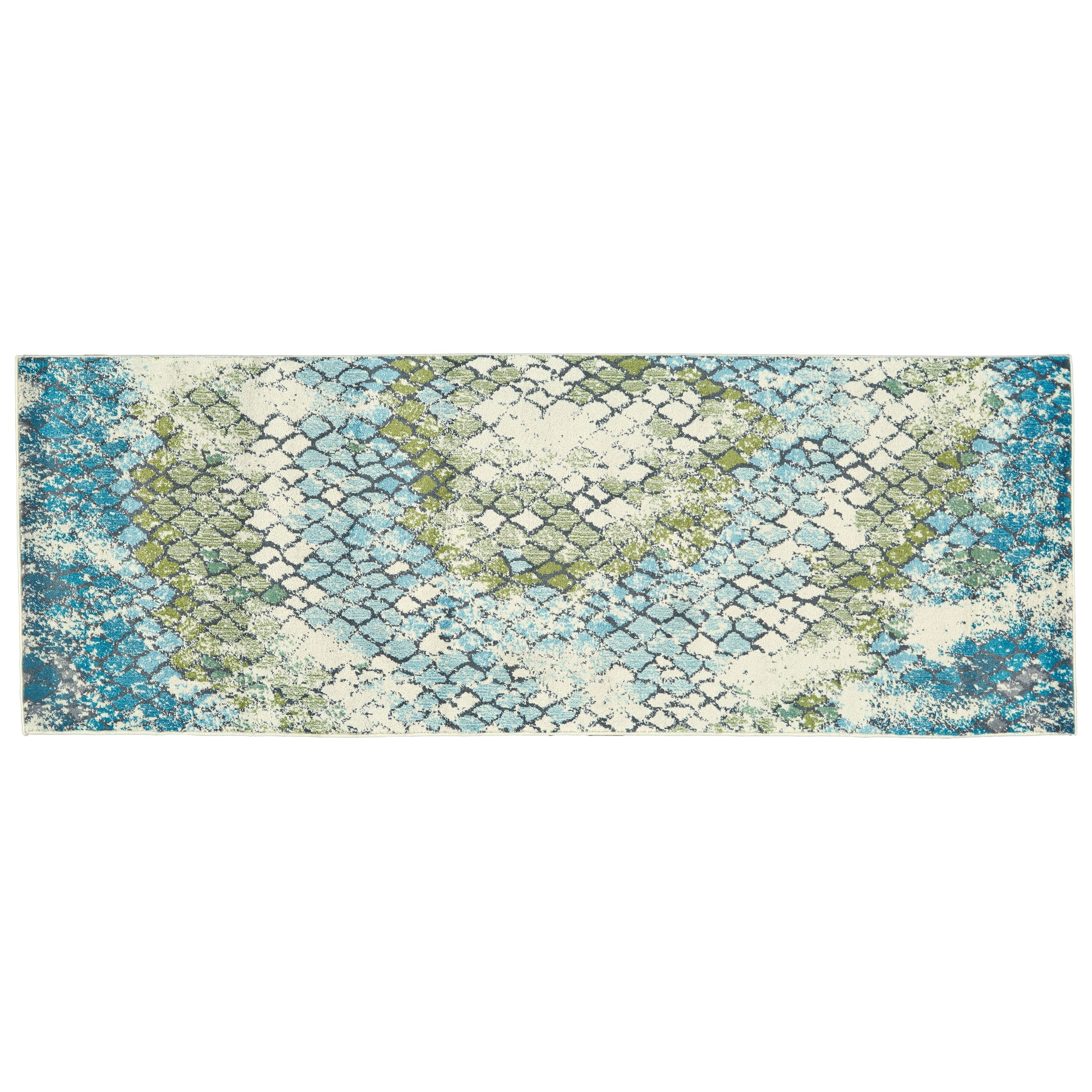 Excellent Feizy Rugs Harlow Aura 2 10 X 7 10 Runner Rug Sprintz Onthecornerstone Fun Painted Chair Ideas Images Onthecornerstoneorg