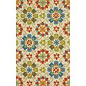 Feizy Rugs Hastings Multi 2' x 3' Area Rug - Item Number: 6154244FMLT000P00