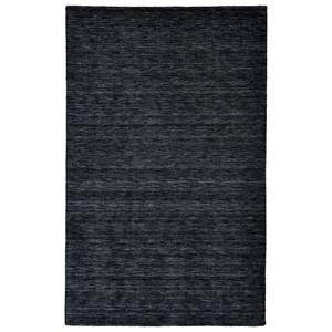 Black 2' x 3' Area Rug