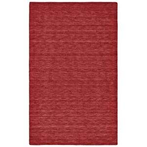 Red 5' x 8' Area Rug