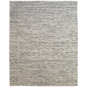 Dark Blue/Gray 8' X 11' Area Rug