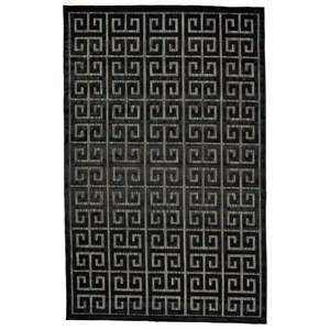 "Black/Charcoal 7'-6"" X 10'-6"" Area Rug"