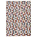 """Feizy Rugs Samos Peacock 2'-2"""" x 4' Area Rug - Item Number: 7123420FPCK000A22"""