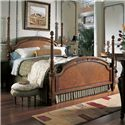 Fine Furniture Design RayLen Vineyards Queen Grand Cru Poster Bed - Item Number: 320-451+452+453