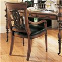 Fine Furniture Design RayLen Vineyards Desk Chair - Item Number: 320-927