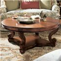 Fine Furniture Design RayLen Vineyards Round Cocktail Table - Item Number: 320-930