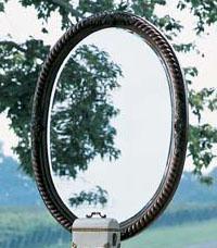 Fine Furniture Design RayLen Vineyards Oval Mirror