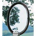 Fine Furniture Design RayLen Vineyards Oval Mirror - Item Number: 320-950