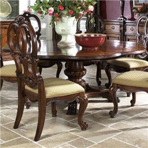 Fine Furniture Design Viniterra Round Pedestal Dining Table