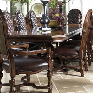 Fine Furniture Design Viniterra Rectangular Double Pedestal Dining Table