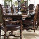 Fine Furniture Design Viniterra Rectangular Double Pedestal Dining Table - Item Number: 810-819+818