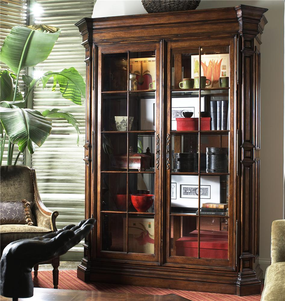 Viniterra Traditional Display Cabinet With Glass Doors By Fine Furniture Design Wolf Furniture